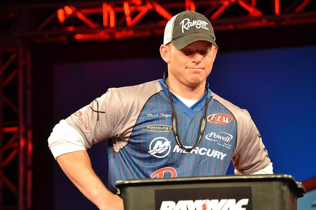 On day three Micah Frazier made his second career FLW Tour top ten as a pro.