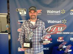 Co-angler March Glenn of Decatur, Ga., won the April 12 Bulldog Division event on Lake Lanier with a 15-pound, 15-ounce limit. He was awarded over $2,300 for his efforts.