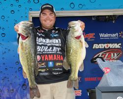 Offshore expert Michael Neal of Dayton, Tenn., grabbed the third place spot with five bass weighing 25 pounds, 10 ounces.
