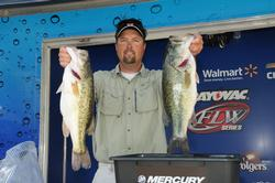 Ron Nelson of Berrien Springs, Mich., is in the second place spot with 26 pounds, 3 ounces.