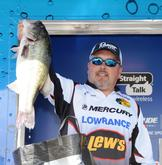 Randy Gardner of Wetumpka, Ala., finished second among co-anglers with 48-9.