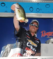 Bryan Thrift of Shelby, N.C., posted a fourth place showing with a three-day total of 70 pounds, 12 ounces.