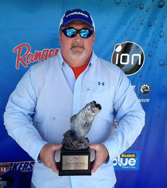 Co-angler Kevin Landreth of Seneca, S.C., won the May 3 Savannah River Division event on Lake Hartwell with an 11-pound, 4-ounce limit. He took home over $2,000 in prize money for his efforts.