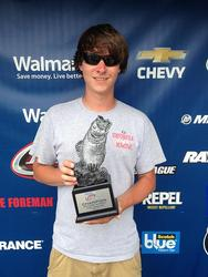Co-angler Tyler Morgan of Columbus, Ga., won the May 10 Bulldog Division event on Lake Sinclair.