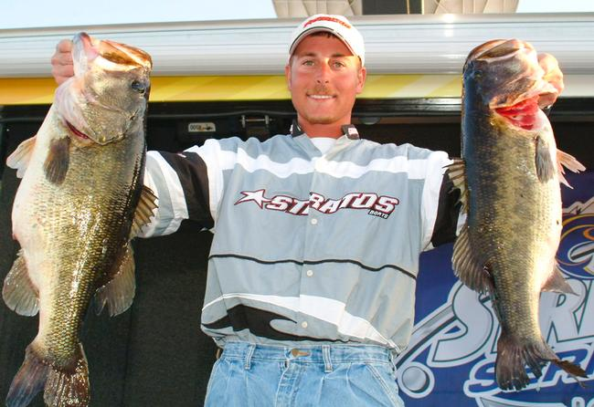 Bryan Thrift won his first Rayovac as a boater in 2006 on Lake Okeechobee.