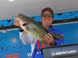 After spooking several big fish on day one, Kyle Grover returned and realized his spots potential on day two.