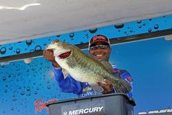 TBF National Champion Mark Daniels caught the biggest sack of day two.