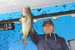 Brandon Cabrales gained six spots to finish second in the Co-angler Division.