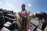 Jason Lambert absolutely crushed them this week on Kentucky Lake. He caught several hundred fish, but he never got that 7- to 8-pound bite that he needed to beat Randy Haynes.