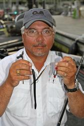Lloyd Pickett Jr plans on fishing his Carolina rig 90 percent of the time.