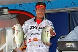 A crankbait and a jig produced Marcus Sykora