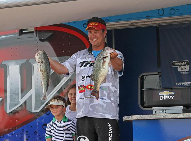 Another dominant performance kept Marcus Sykora on top at the BFL All-American at Wilson Lake.