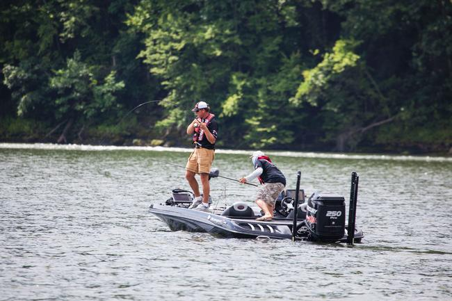 Coming off a Rayovac FLW Series win at Kentucky Lake, Randy Haynes was one of the pre-tournament favorites.