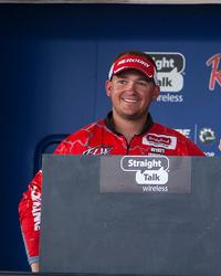 Grayson Smith of Clarksville wound up third in the co-angler race.