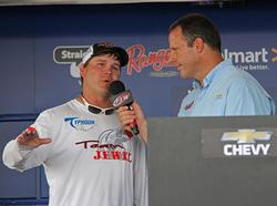 Fourth-place co-angler John Bedingfield remained in the top-5 all three days.