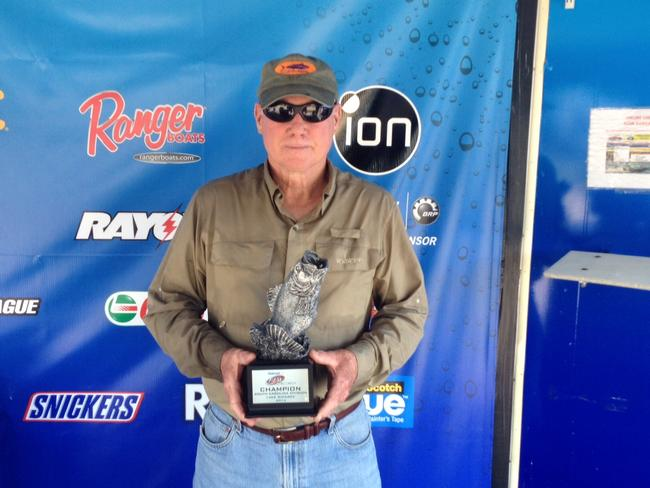 Co-angler Calvin Sharp of Round O, S.C., won the June 14 Volunteer Division event on Cherokee Lake with his 14 pound, 15 ounce limit. Sharp walked away with $1,489 in prize money for his victory.