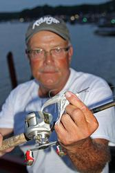 A chatterbait will be a primary tactic for Dan Welch.