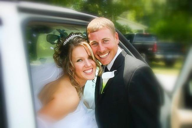 Allison and Bryan Thrift tied the knot on July 21, 2007.