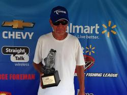 Co-angler Jim Budde of Waterloo, Ill., won the June 21 Illini Divison event on Lake Shelbyville with 15 pounds, 7 ounces which earned him a check for nearly $2,000.