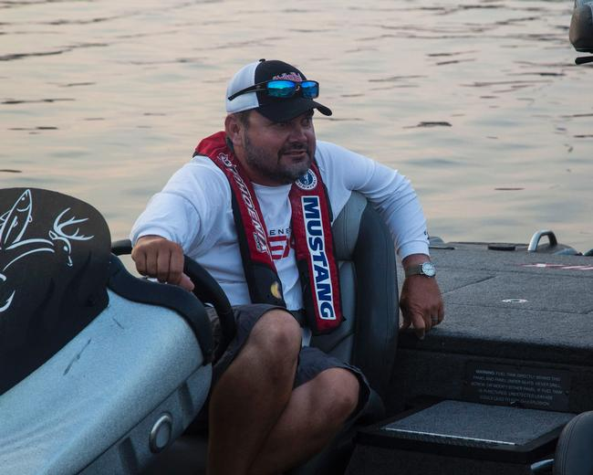 Greg 'Hack Attack' Hackney is sitting pretty coming off his win at the FLW Tour event on Pickwick Lake.