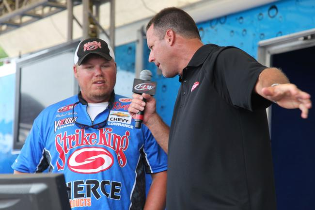 Local pro Michael Wooley backed up 20-12 on day one with a 17-1 effort on the second day.