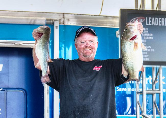 South Carolina co-angler John Wilson weighed 50-6 over three days and earned a $5,000 paycheck.
