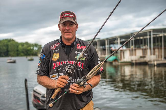 For Haynes, the magnum spoon and a crankbait were the deal on Kentucky Lake.