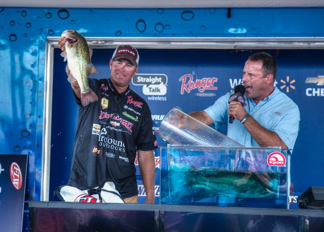 Randy Haynes caught 22-9 on the final day and finished 4th. This was Haynes' 6th top 10 finish on Kentucky Lake in FLW competition.