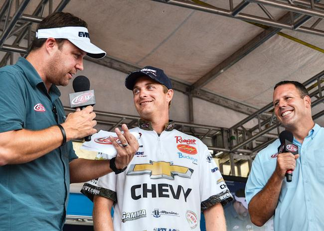After being disqualified from the season opener on Okeechobee, Chevy pro Anthony Gagliardi rallied to qualify for the Forrest Wood Cup held on Lake Murray - his home lake - this August.