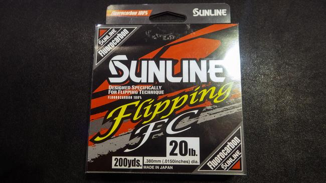 ICAST - Line - Sunline Flipping FC - Many pros like to flip with fluorocarbon because of its abrasion resistance and minimal stretch, but the line can be difficult to see, which makes it hard for detecting subtle strikes. Enter Sunline Flipping FC. This tough fluorocarbon features alternating sections of clear and colored (chartreuse yellow). Tie to a clear section, and watch the yellow as you fish. SunlineAmerica.com