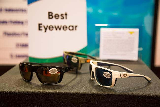 ICAST - Sunglasses - Costa del Mar walked away with another New Product Showcase Best Eyewear award this year with its Hamlin frames and 580P silver mirror lenses.