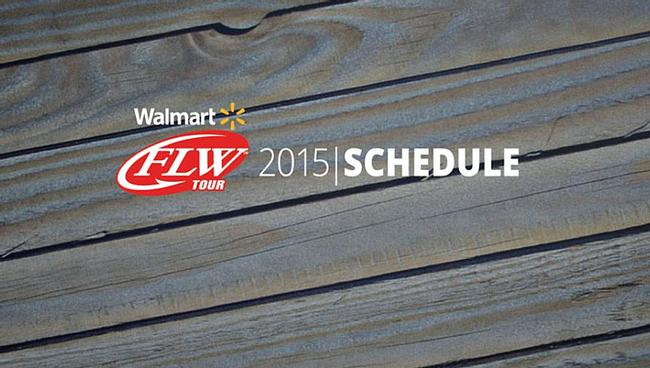 FLW Announces 2015 Walmart FLW Tour Schedule