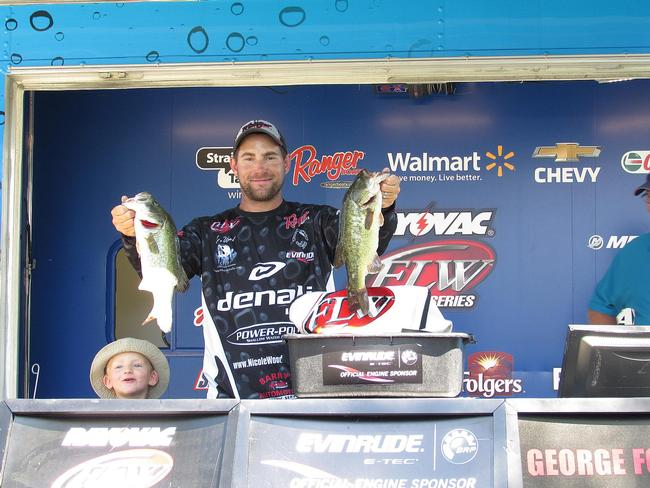 Joseph Wood wins the Rayovac Northern Division Angler-of-the-Year points and heads to the Forrest Wood Cup in August on Lake Murray.