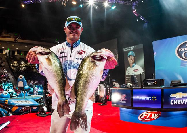 Hometown boy Casey Ashley wants to bring the Cup back to South Carolina! He cracked 15-9 on day three and jumped up to fifth place.