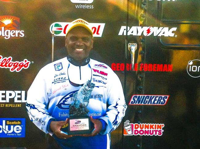 Gregory Littles of Columbia, S.C., won the Sept. 20-21 South Carolina Division Super Tournament on Lake Wylie with a two-day total weight of 13 pounds, 9 ounces. Littles was awarded over $1,800 for his efforts.