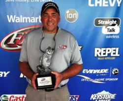 Co-angler Terry Wilson of Tillsonburg, Ontario, won the Sept. 27-28 Michigan Division Super Tournament on Lake St. Clair with a two-day total weight of 41 pounds, 5 ounces. For his efforts, Wilson earned over $2,800 in winnings.