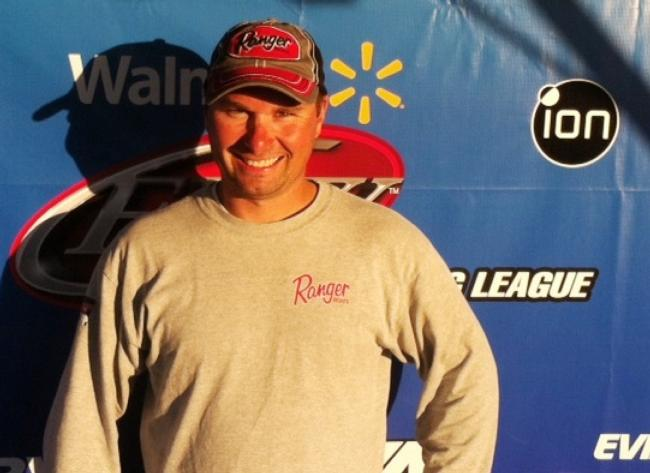 Chris Martinkovic of Hamilton, Ohio, won the Oct. 16-18 Walmart BFL Regional on Kentucky Lake with a three-day total weight of 38 pounds, 11 ounces. He was awarded a Chevy 1500 Silverado and Ranger Boat with a 200 horsepower engine for his efforts.