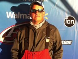 Co-angler Ryan Sykes of Hamilton, Ohio, won the Oct. 16-18 Walmart BFL Regional on Kentucky Lake with a three-day total weight of 25 pounds, 7 ounces. He took home a Ranger Z518 with a 200 horsepower engine for his efforts.