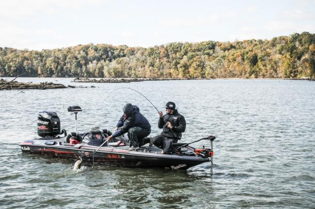 Birge had a banner day three of the Rayovac FLW Series Championship on Wheeler Lake.