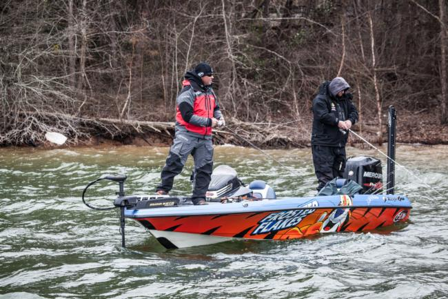 Dave Lefebre argues that power fishing can be a viable option even in the dead of winter.
