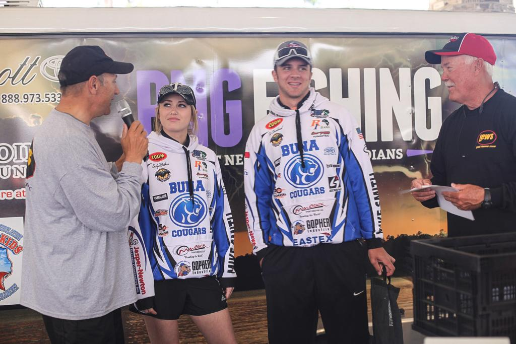 Texas high school fishing event fields 370 boats flw for Texas high school fishing
