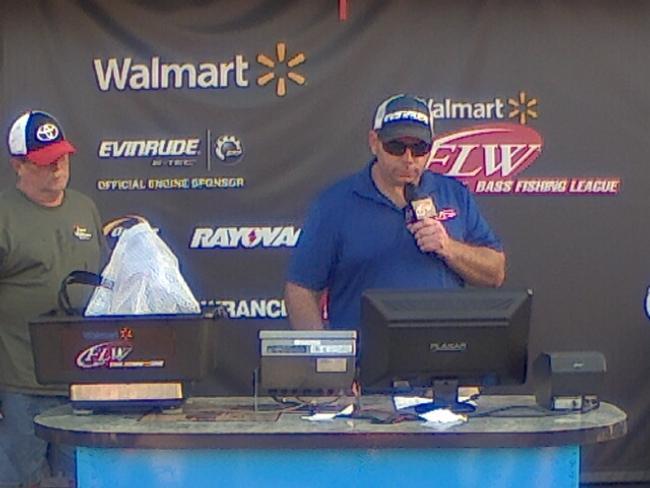 Flw fishing john pendleton angler profile for Walmart with live fish near me