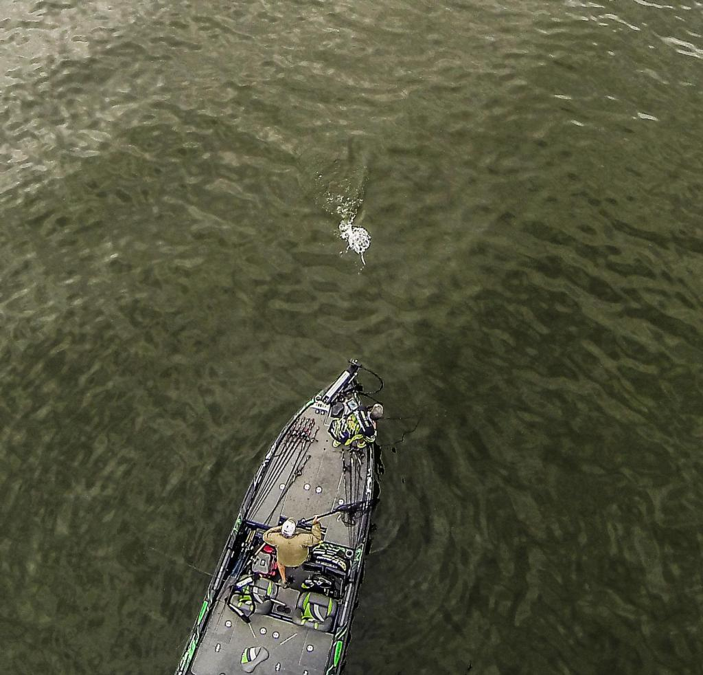 Top 10 photos of 2014 flw fishing articles for Best drone for fishing