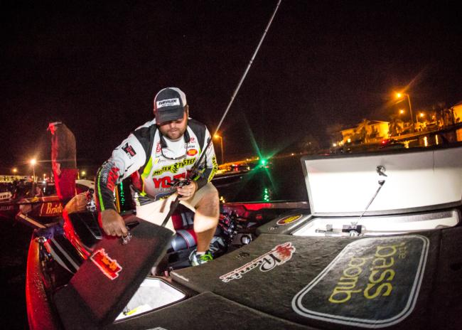 How good is the fishing on Okeechobee right now? Clent Davis thinks it could take 75 pounds over three days to win.
