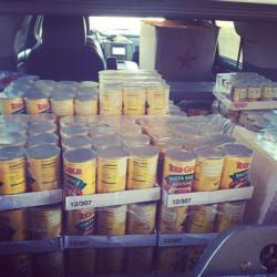 1000 pounds of Red Gold tomato products will be donated to Hooked on Helping.