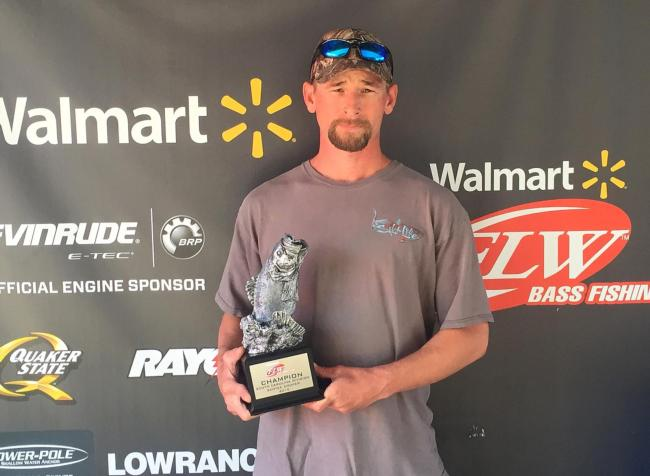 Co-angler Dennis Cox of Pinewood, S.C., won the March 21 South Carolina Division event on Santee Cooper with three good bass weighing 16 pounds, 9 ounces. He claimed a check worth over $2,000 for his efforts.