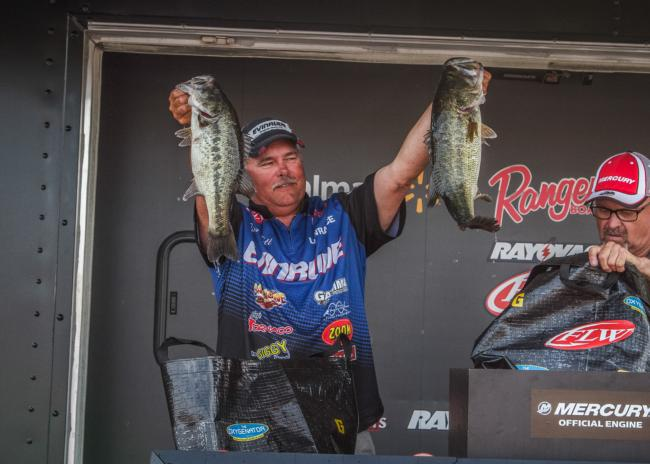 After improving his limit on day three by more than 4 pounds over what he caught on day two, Jim Tutt fished his way to third place.