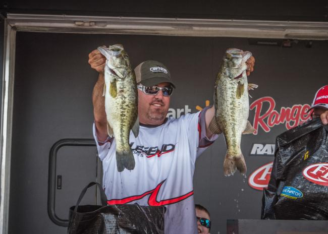 Runner-up Kris Wilson caught more than 16 pounds each day en route to winning more than $13,000.