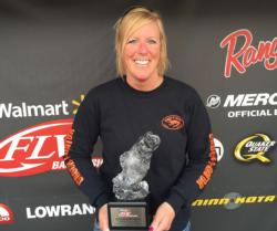 Co-angler Denise Dill of Laurie, Mo., won the April 11 Ozark Division event on Lake of the Ozarks with a 17-pound, 9-ounce limit which earned her a $2,200 check.