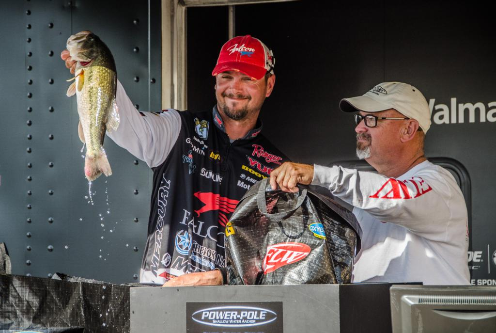 Top 10 patterns from grand lake flw fishing articles for Jason christie fishing